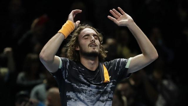 Il victur dal ATP a Londra: Stefanos Tsitsipas