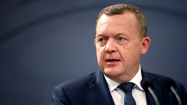 Il primminister dal Danemarc, Lars Lökke Rasmussen.