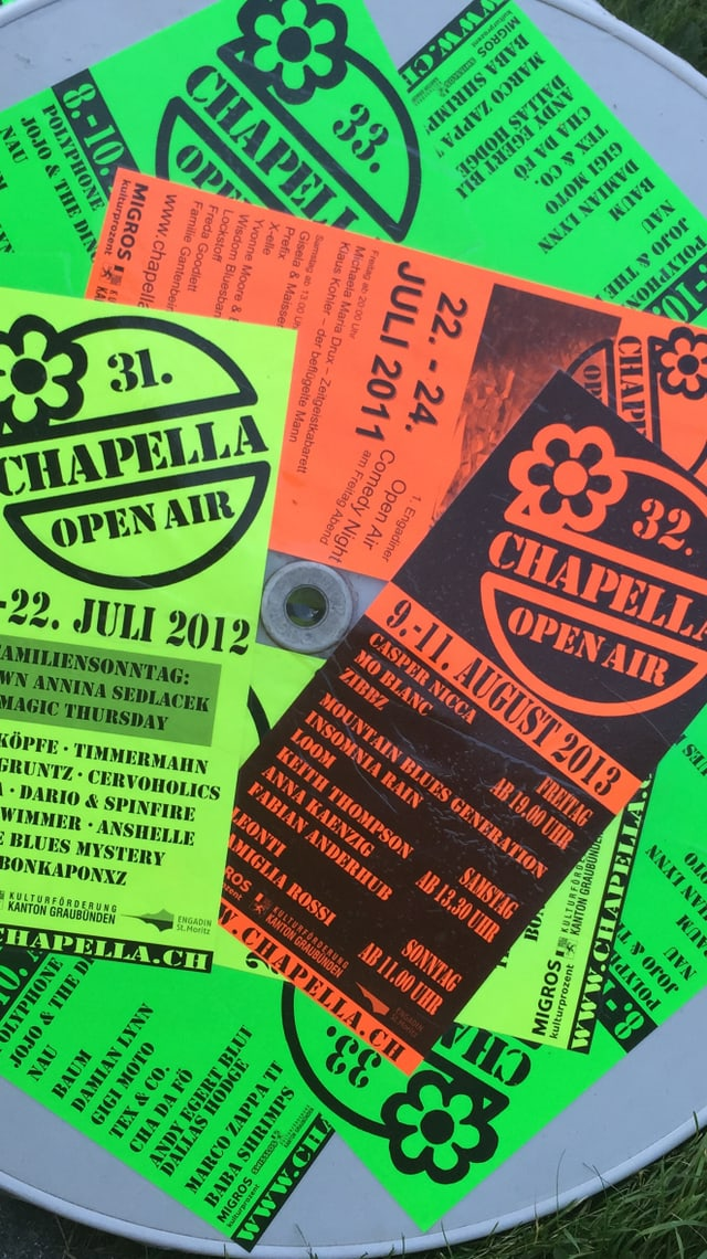 Flyers openair Chapella