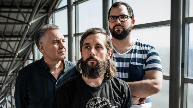 Das neue «Sounds!»-Team (von links): Matthias Erb, Andi Rohrer und Luca Bruno.
