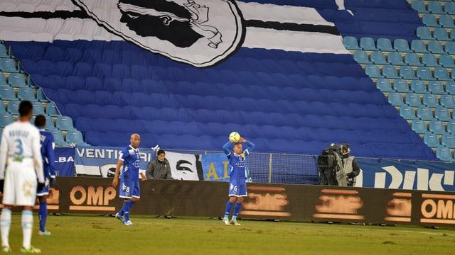 Ausgesperrt: Der SC Bastia darf bis auf weiteres keine Heimspiele mehr bestreiten.