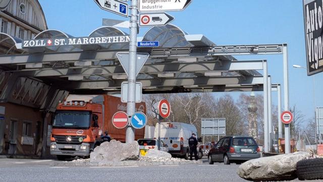 Zollübergang St. Margrethen