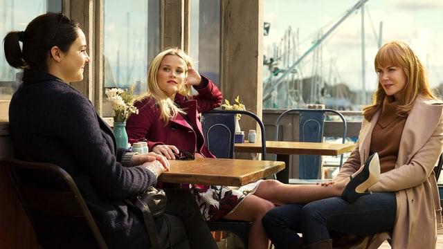 Woodley, Witherspoon und Kidman in der Serie «Big Little Lies»