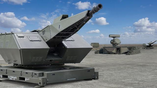 Oerlikon Skyshield® Flieger-Abwehrsystem