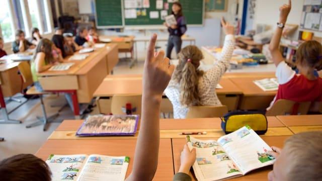 Unterricht in einer Primarklasse.
