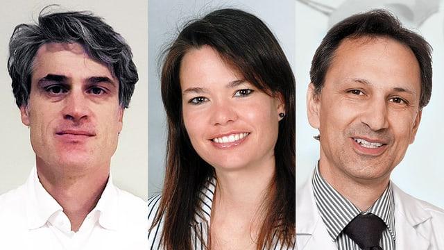 Portraitaufnahme der Chat-Experten