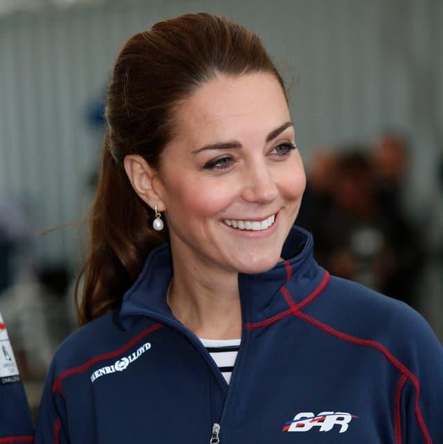 Catherine lächelnd