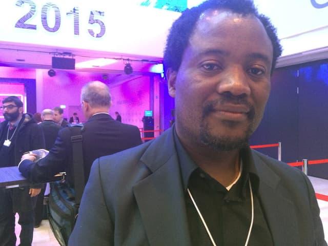 Zeblon Vilakazi, Prorektor an der Universität Witwatersrand in Südafrika