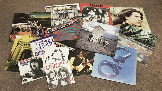 Rock Schallplatten