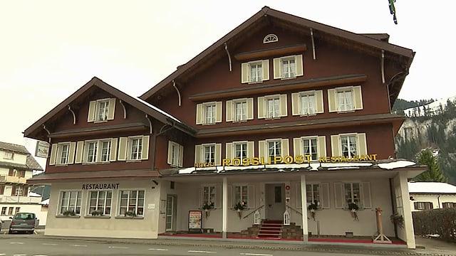 Video «Landgasthof Rösslipost in Unteriberg (SZ) - Tag 5» abspielen