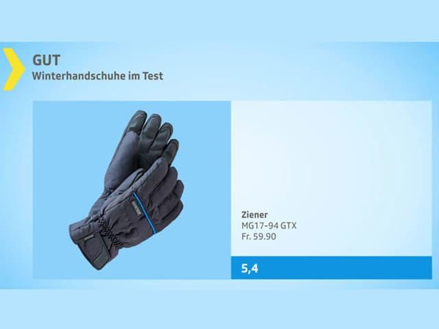 Schutz vor Kälte und Nässe Winterhandschuhe im Test