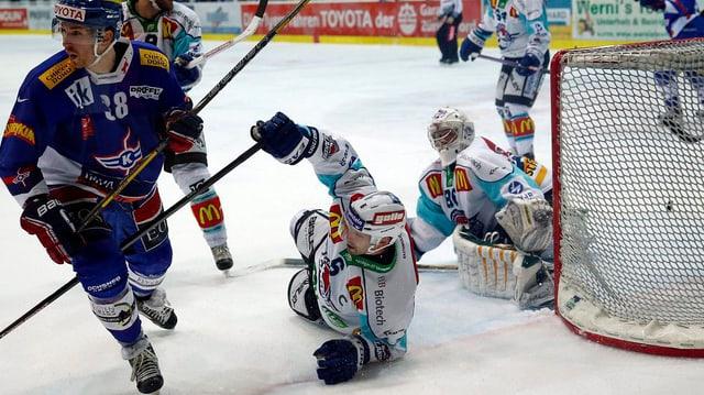 Eishockeyspieler während eines Matches.