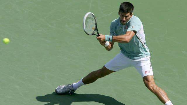 Novak Djokovic steht in Cincinnati in den Achtelfinals.