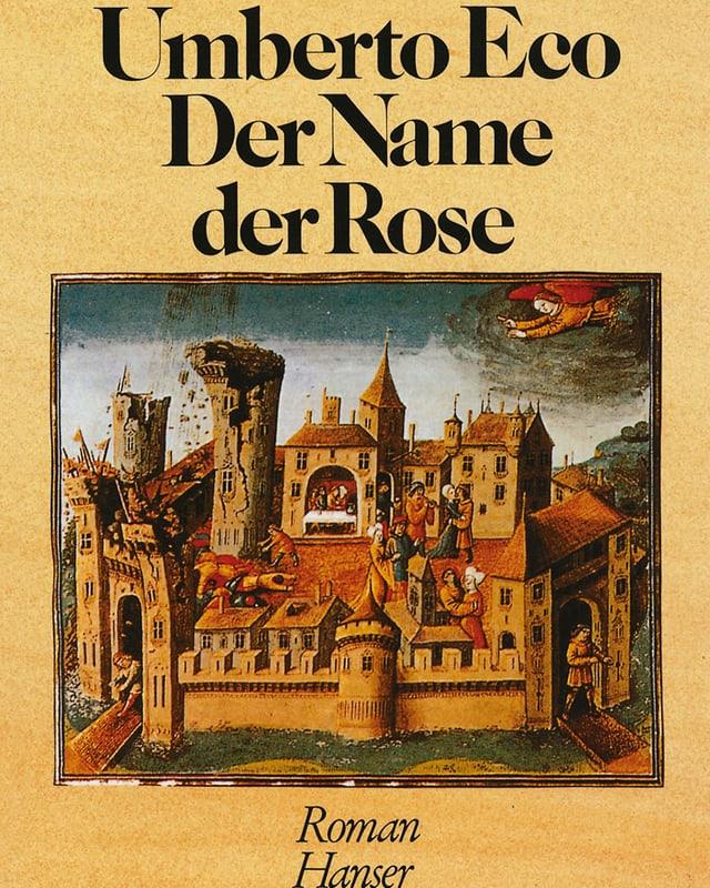 Buchumschlag: Zeichnung eines mittelalterlichen Kloster, das zerfällt.