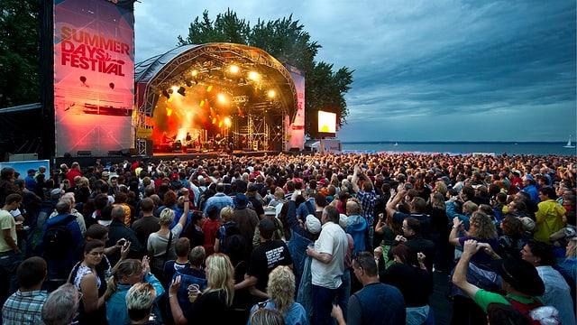 Summerdays Festival 2010 mit der britischen Band «Barclay James Harvest»