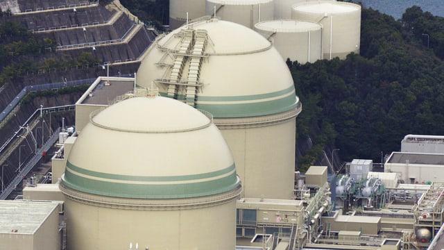 L'implant atomar Takahama en la prefectura Fukui en il nordvest dal Giapun.