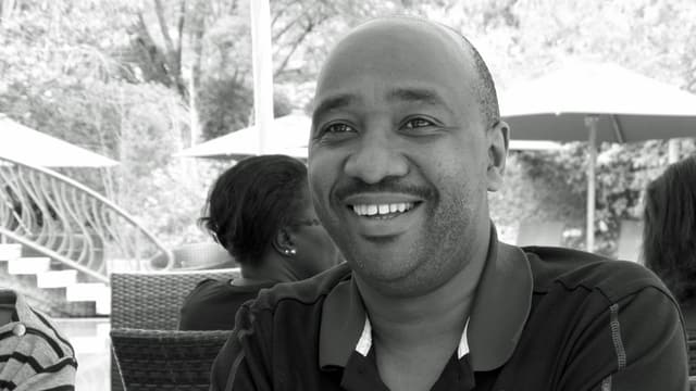 Porträt von Nelson Gitonga