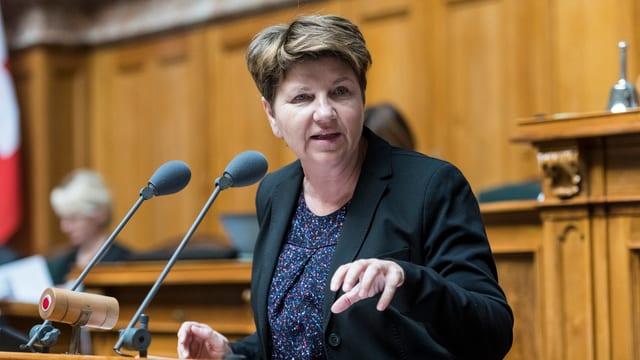 Viola Amherd: Klare Ansage zum Kinderschutz in der Wintersession 2017.