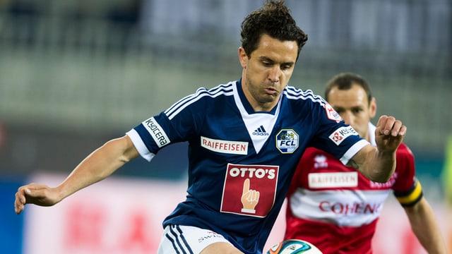 Dimitar Rangelov im Spiel gegen den FC Sion.