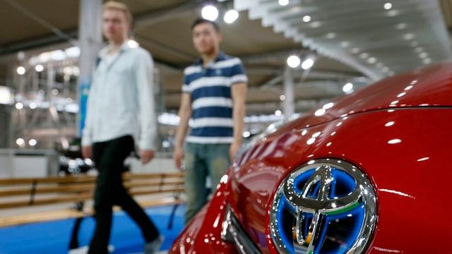 Ein Toyota Prius.