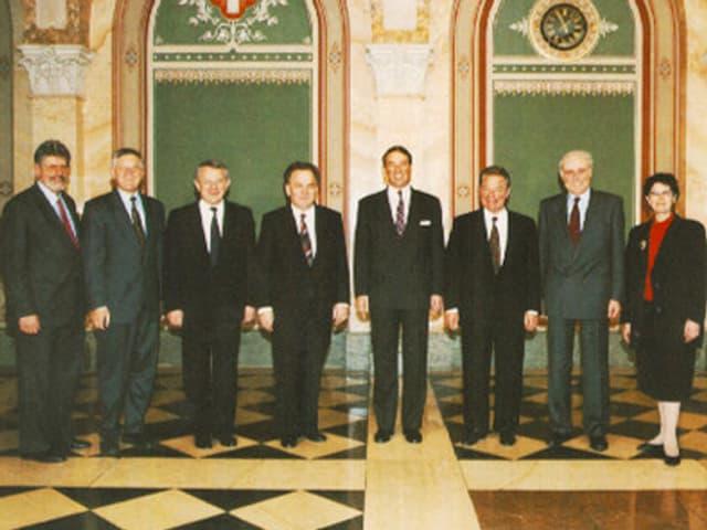 Bundesratsfoto 1993