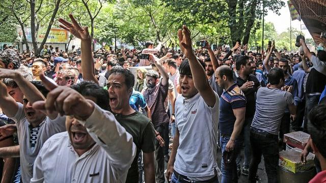 Auch politische Proteste