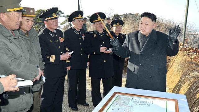 Kim Jong Un vor wenigen Tagen.