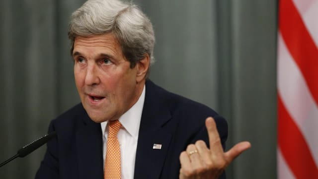 John Kerry, il minister da l'exteriur dals Stadis Unids da l'America.