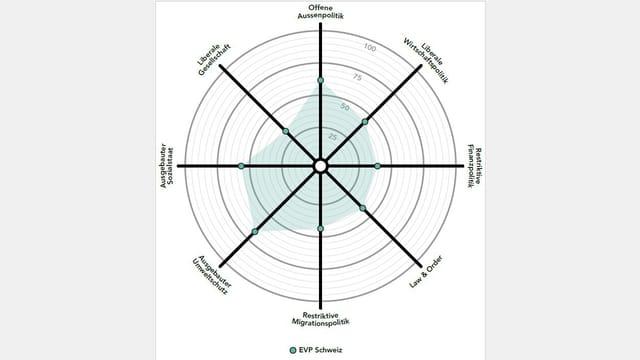 Smartspider-Grafik der EVP