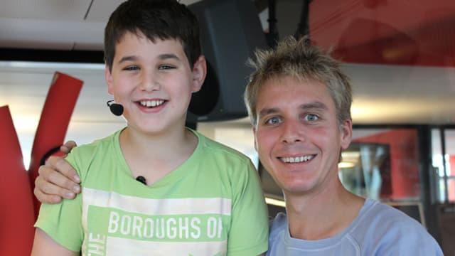 Reto Scherrer und Nico Pfau.
