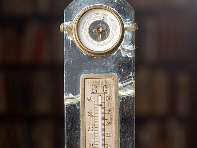 Tischbarometer von Thomas Mann.