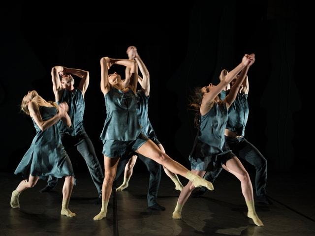 Gruppe von Tänzern von Tanz und Kunst Königsfelden
