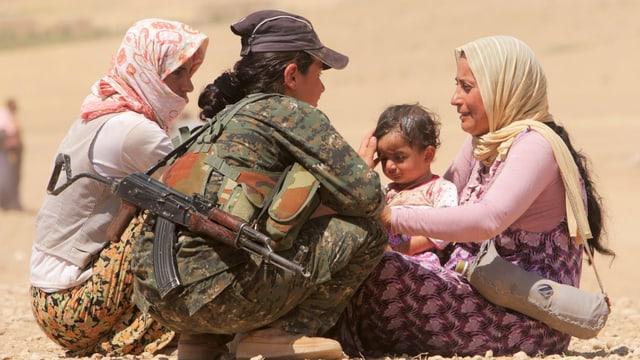 Die jesidischen Kämpferinnen spielten bei der Rückeroberung von Kobane eine bedeutende Rolle.