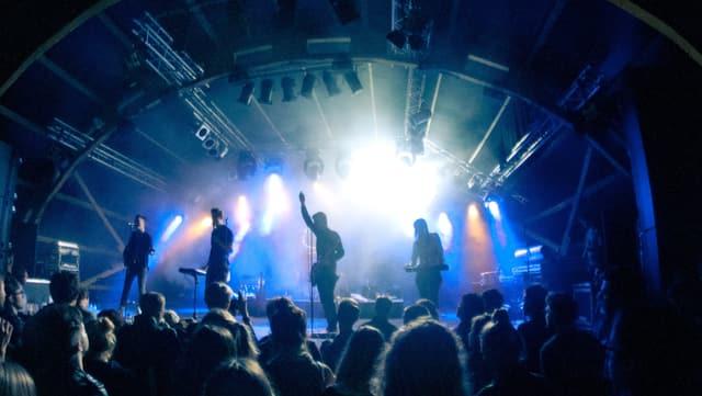 Die Belgische Band Balthazar am B-Sides Festival.