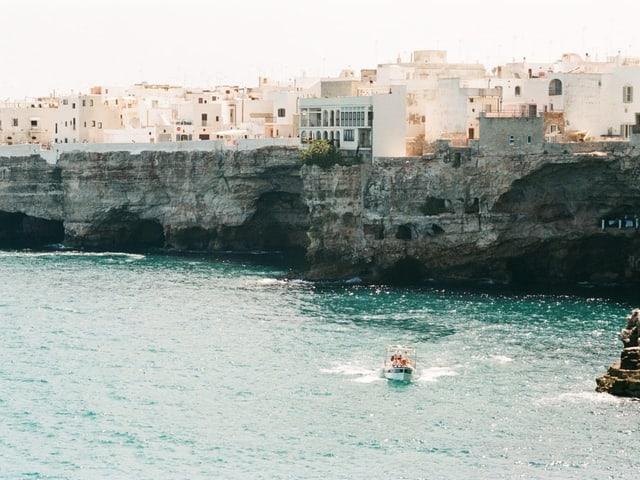 Die Küste von Bari.