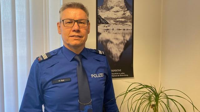 Il policist Hugo Epp.