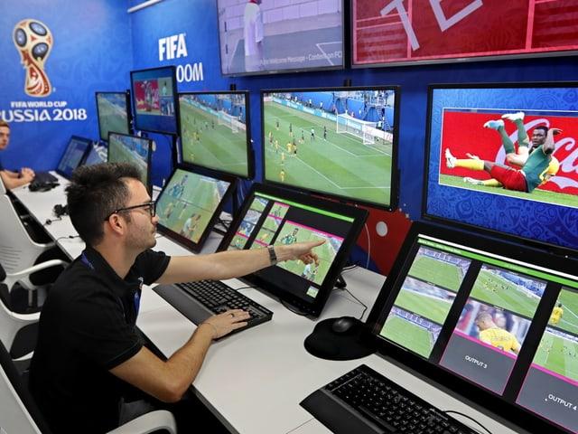 Video-Assistenten Raum