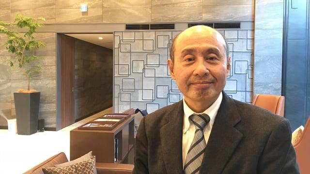 Ökonom und Glücksspielexperte Takeo Shibata.