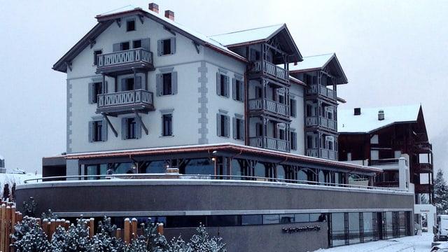 L'hotel Alpina a Tschiertschen