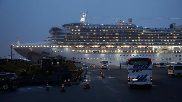 Die Passagiere des Kreuzfahrtschiffes Diamond Princess standen zwei Wochen lang unter Quarantäne.