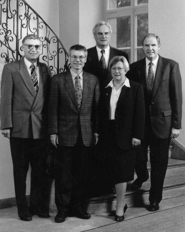 Regierungsratsfoto von 1996