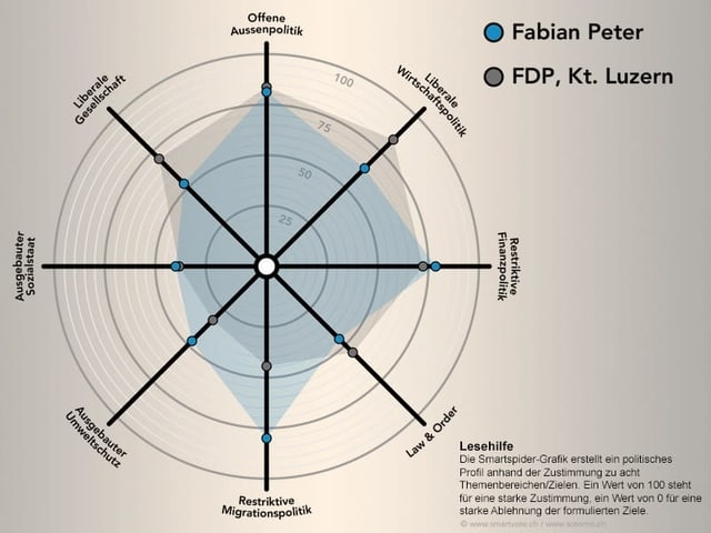 Die politischen Positionen von Fabian Peter.