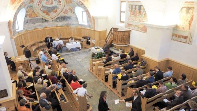 Fotografia da la sinoda 2016 a Vicosoprano.
