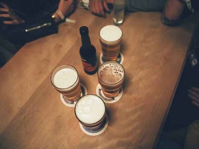 Bier in Zofingen.