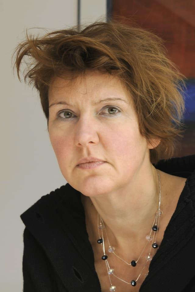 Porträtaufnahme der Philosophin Dagmar Borchers.