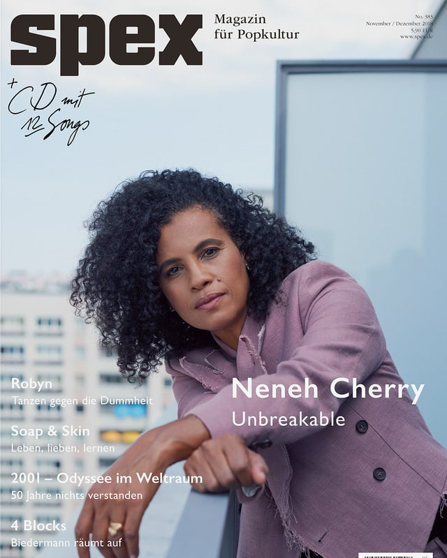 Das Cover der zweitletzten Ausgabe der Spex.