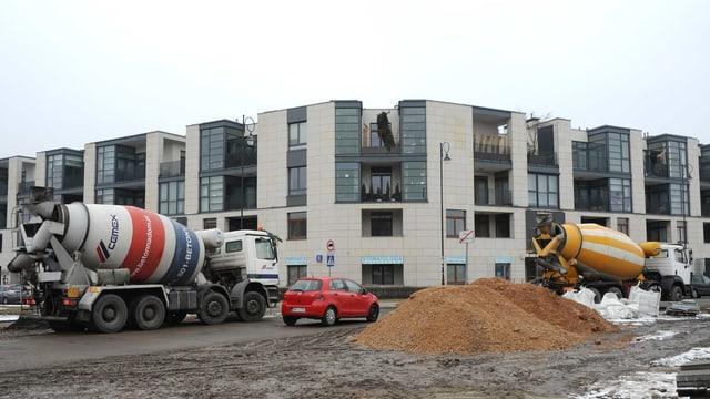 Baustelle in Polen