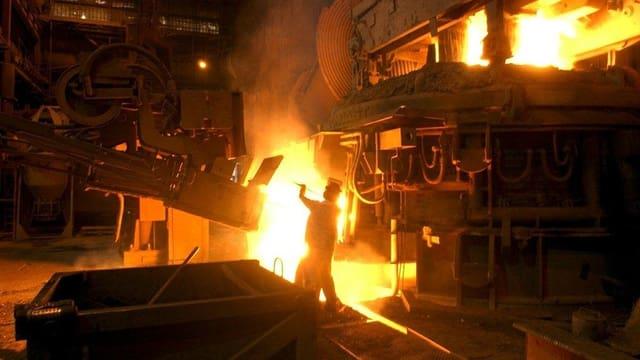 Bei Swiss Steel in Emmen verpufft viel wertvolle Wärme.