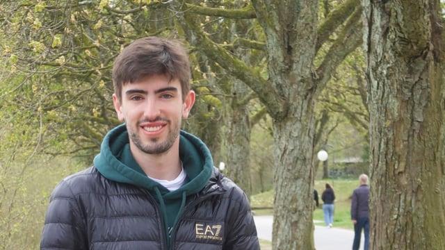 Porträt des Ingenieurstudenten Jack Clarke