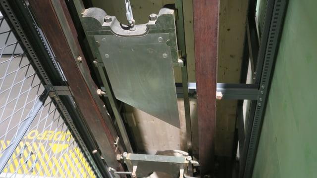 Die Original-Guillotine ist im Historischen Museum in Luzern ausgestellt.